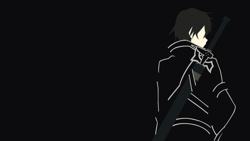 Kirito versi n sao de sao minimalista por matsumayu for Minimal art online