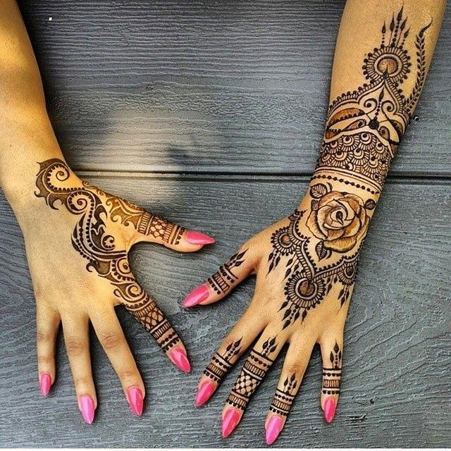 87716a38b 10 Henna Designs You Can Rock All Year Long via Brit + Co. | Henna ...