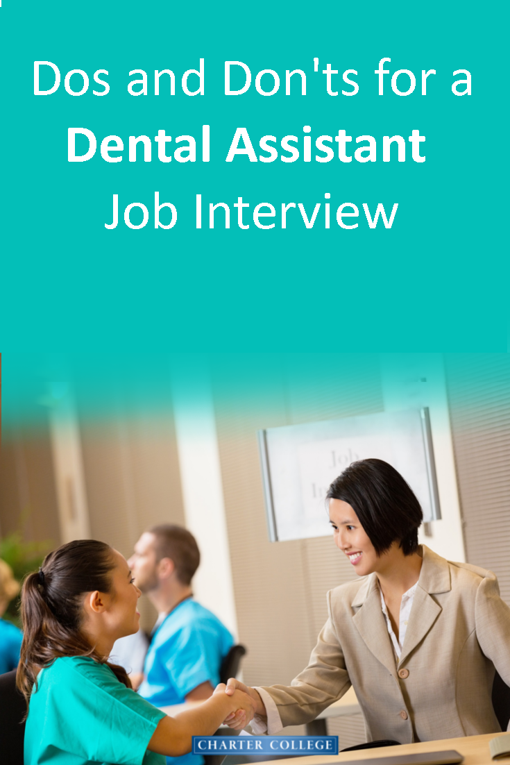 Dos And Don Ts For A Dental Assistant Job Interview Dental Assistant Humor Dental Assistant Jobs Dental Assistant