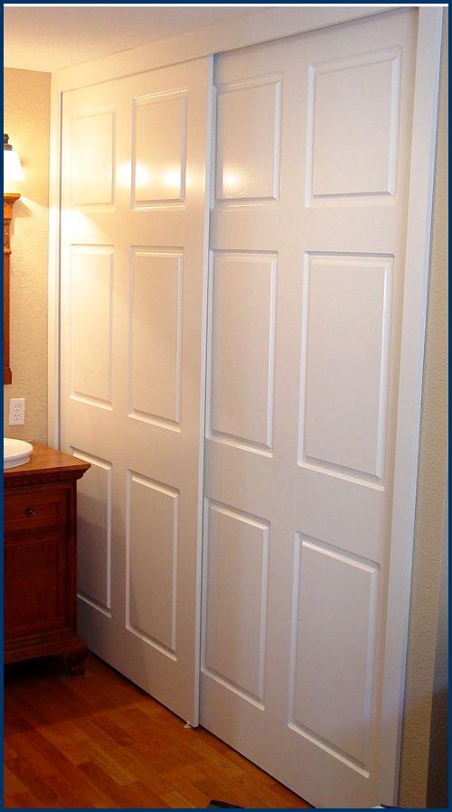 Closet doors for master closet door ideas pinterest - Master bedroom closet door ideas ...
