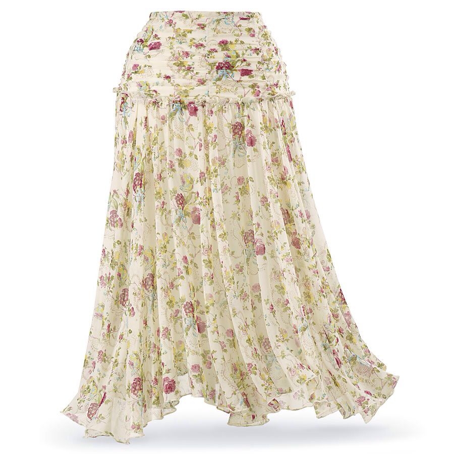 acf618bed27bd Garden melodies skirt- The pyramid collection