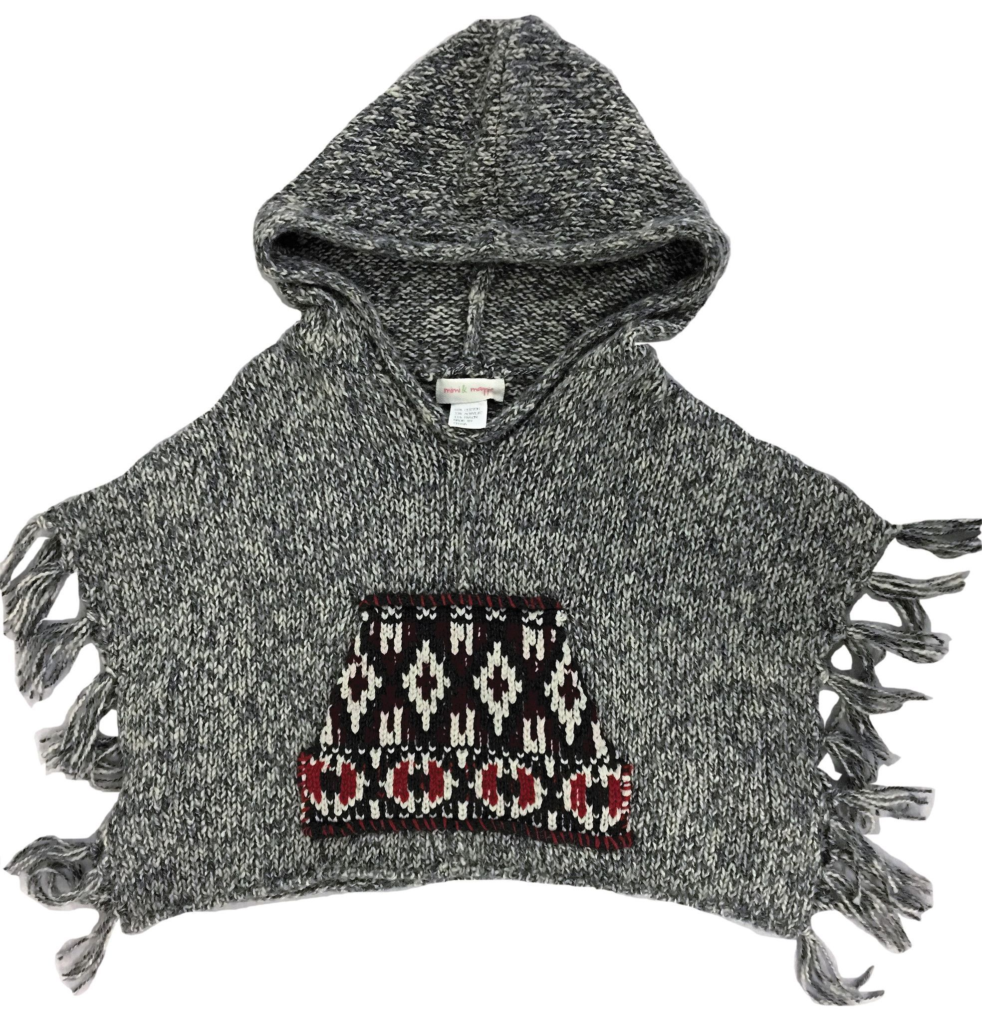 Reservation Hoodie Poncho