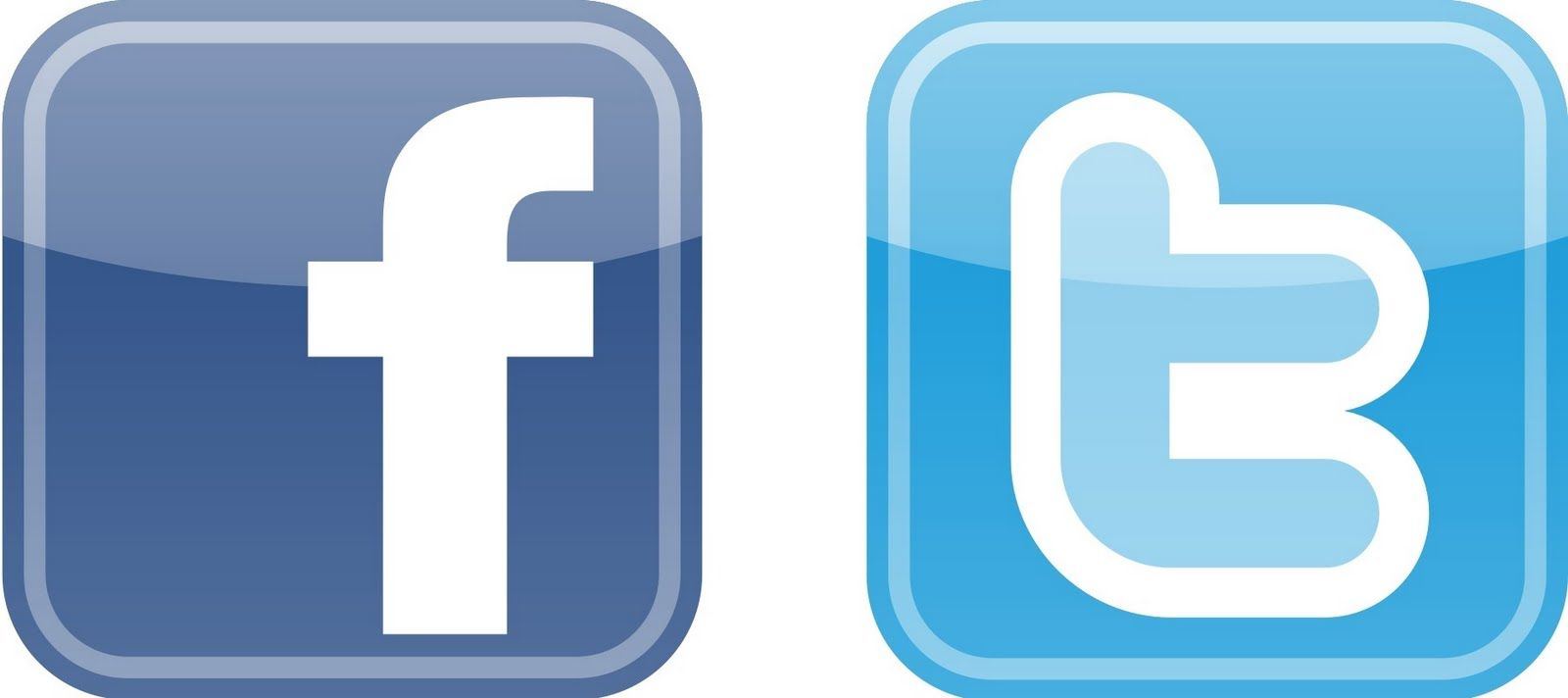 Make Page On Facebook And Twitter And Linked Them Facebook Icons Twitter Logo Web Marketing