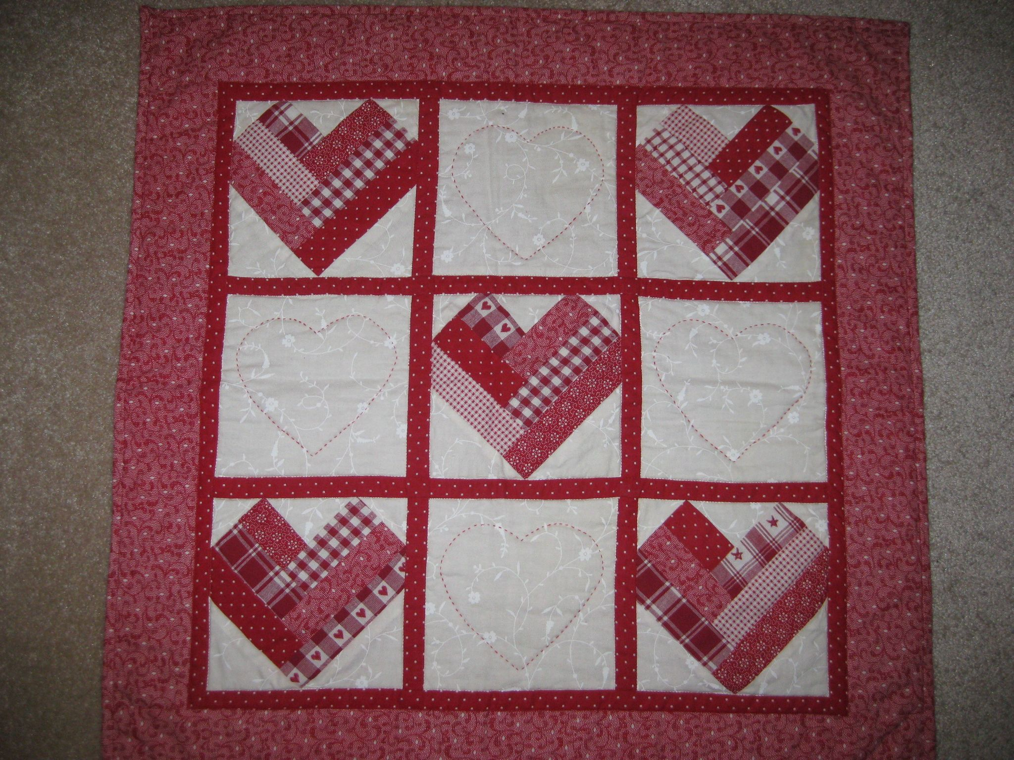 valentine's day quilts - Google Search
