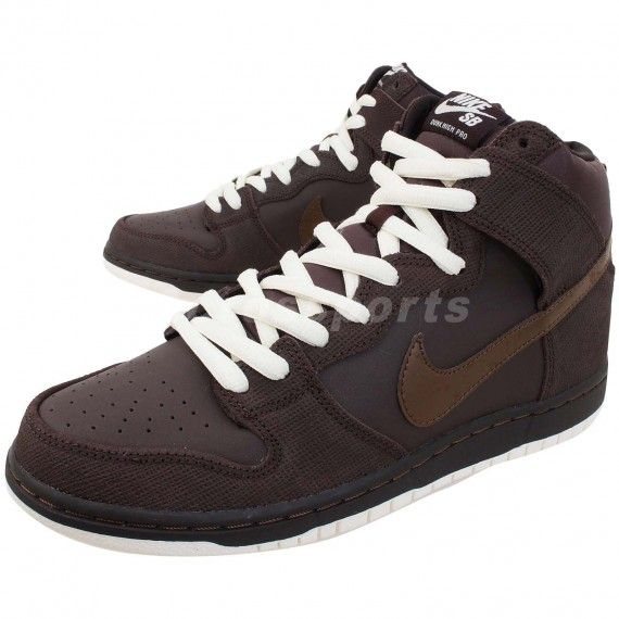 0235b6b272 Nike SB Dunk High – Baroque Brown | Sneakers | Pinterest | Nike sb ...