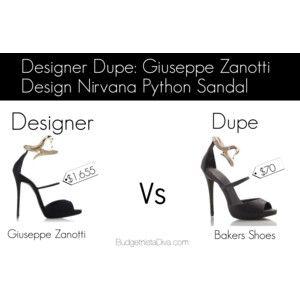 Designer Dupe: Giuseppe Zanotti Design