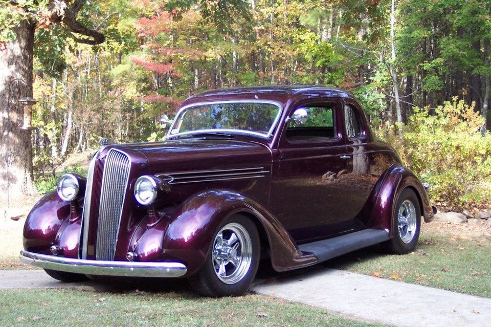 1936 plymouth coupe fully restored pin this pinterest for 1936 plymouth 2 door sedan