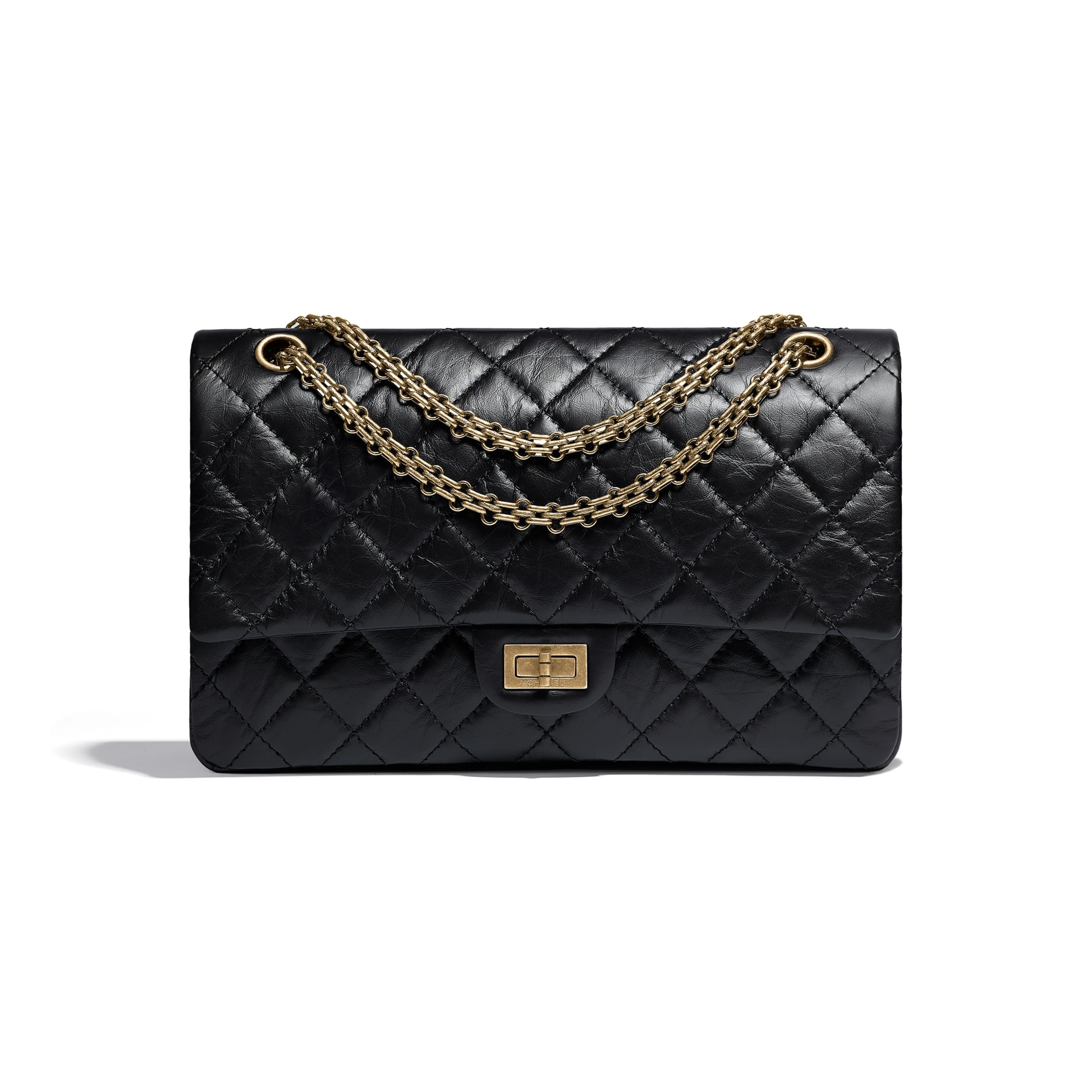 dbccff274f1d Chanel Reissue (227) 2.55 Flap Bag with Ruthenium Hardware | Handbags/Wallets  I Love | Chanel fashion, Fashion handbags, Chanel reissue