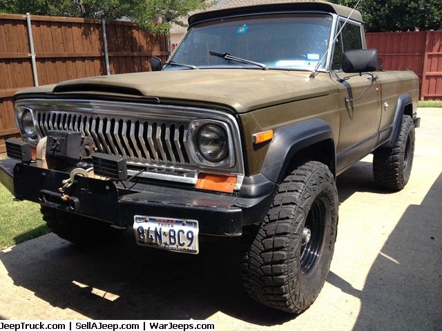 1977 J10 On Wrangler Mt 35s Jeep Truck Jeep Wagoneer Willys Jeep