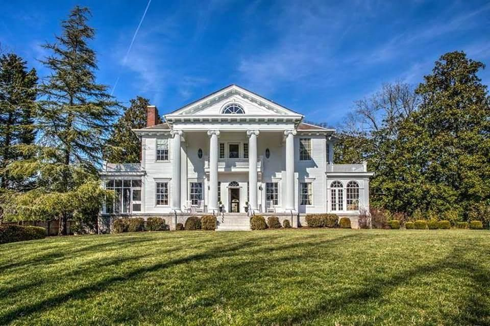 1913 Neoclassical Spotswood Hall For Sale In Atlanta