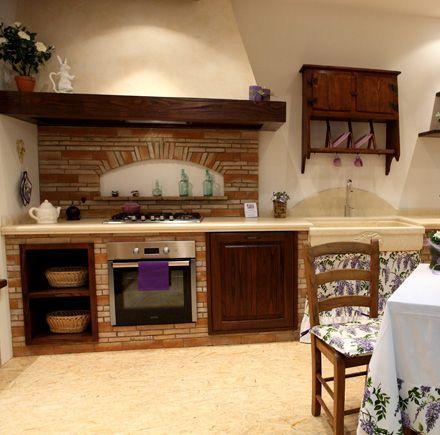 Caminetti Carfagna - Cucine rustiche - Cucina Vischio - Bastia Umbra ...