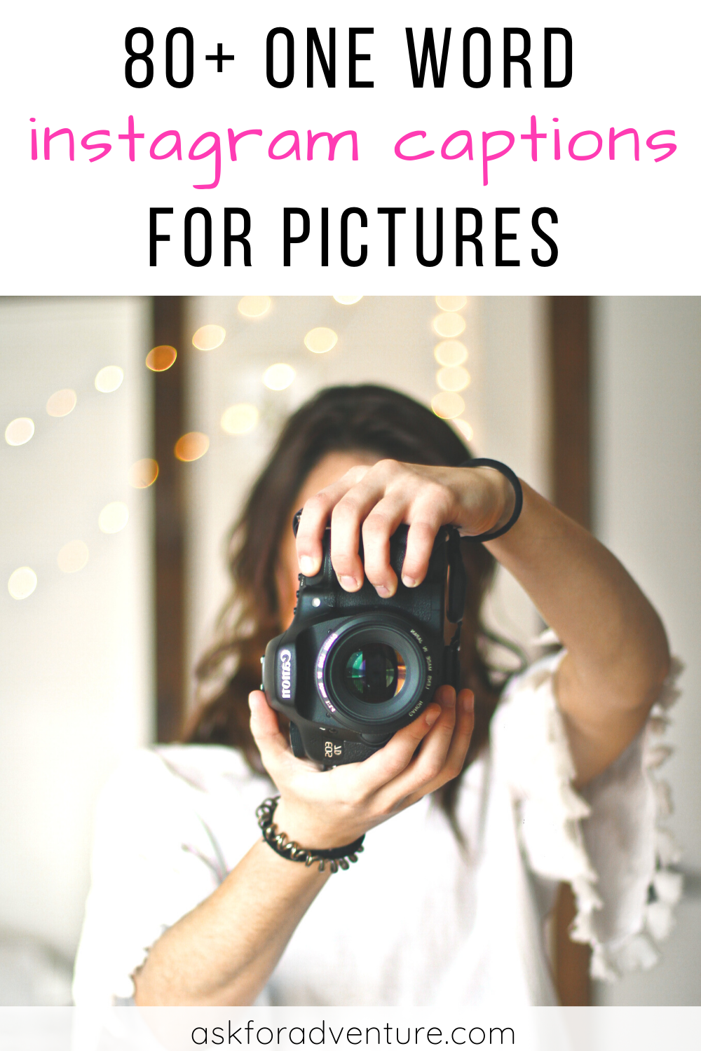 80+ One Word Captions for Instagram Pictures | One word ...