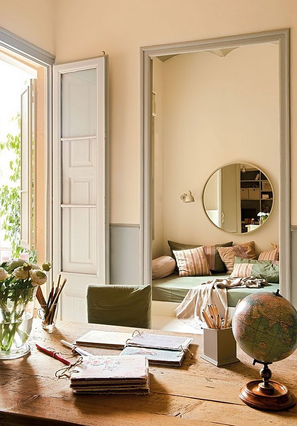 Librarian Tells All: Peachy Keen Paint For A Light And Bright Bedroom