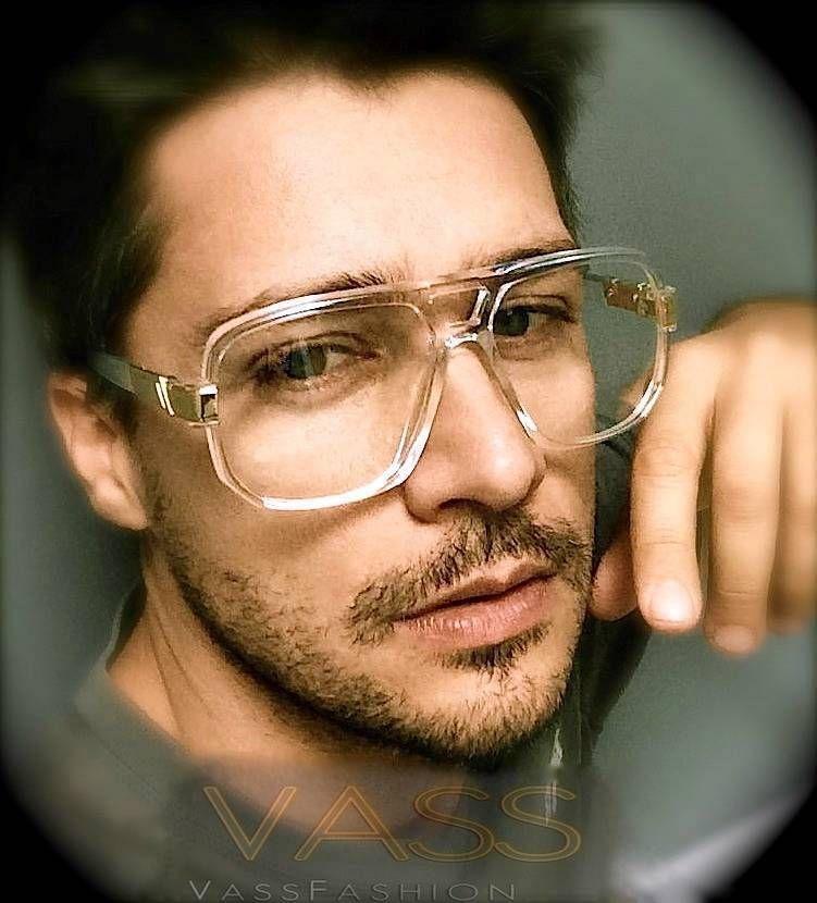 Square Aviator Retro Vintage Thick Frame Clear Lenses Mens Big Large Eyeglasses Vintage Glasses Men Mens Glasses Aviator Glasses Men