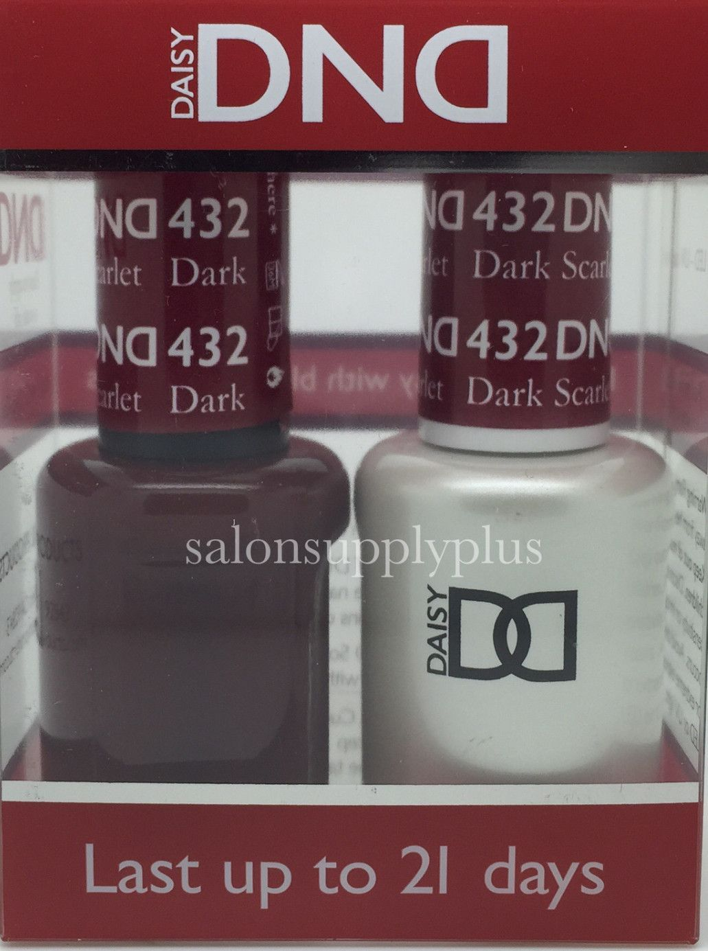 DND Duo Gel - Dark Scarlet