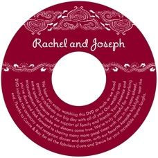 personalized wedding cd labels