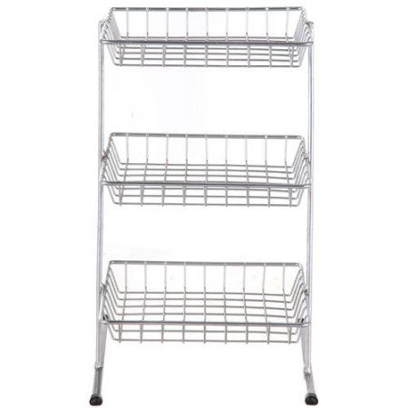 Mainstays 3-Tier Wire Shelf | Shelves and Kitchen decor
