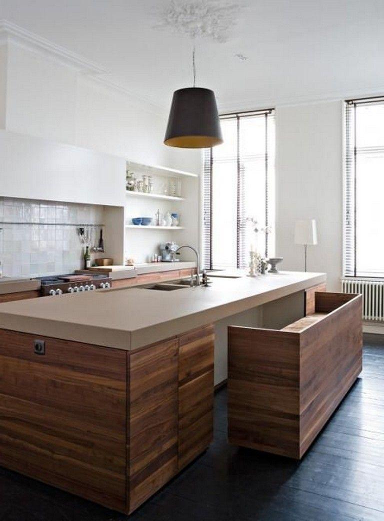 85 Amazing Scandinavian Kitchen Design Ideas Scandinavian Kitchen Design Kitchen Island Bench Modern Kitchen Island
