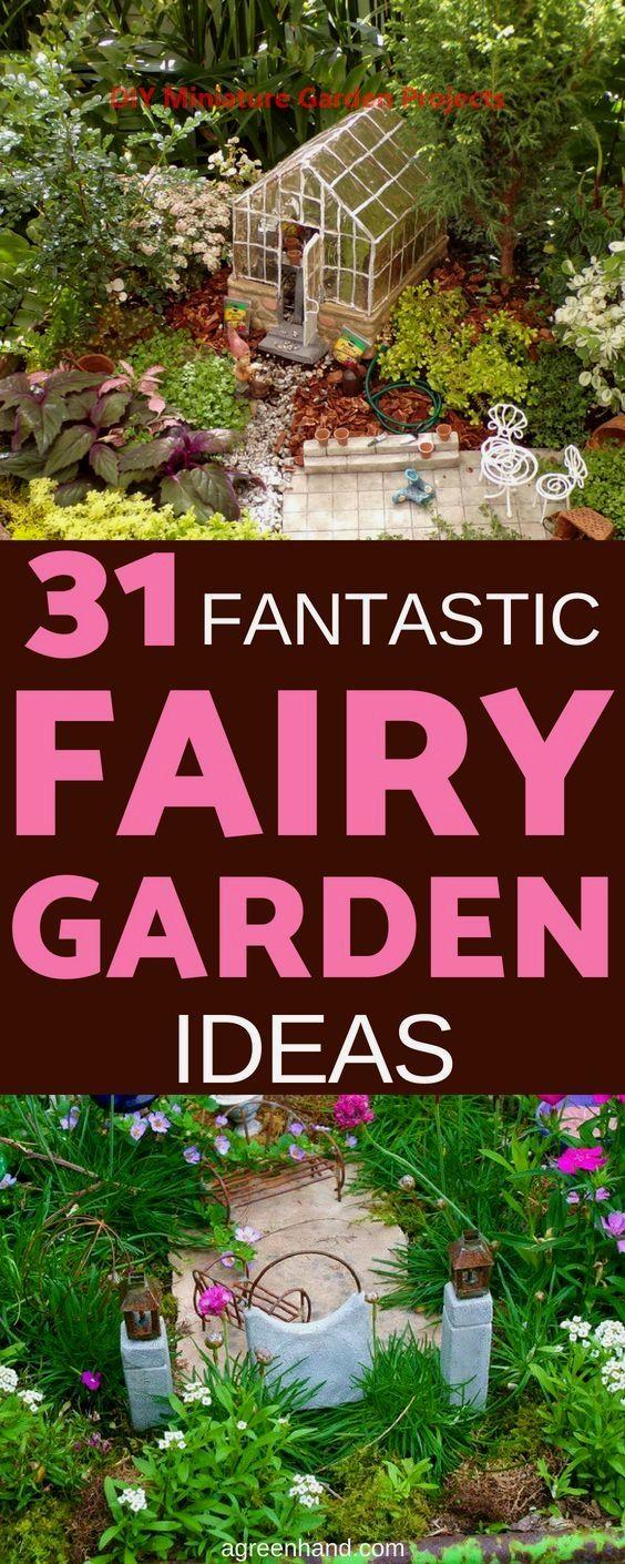 DIY Miniature Garden Hacks & Decoration