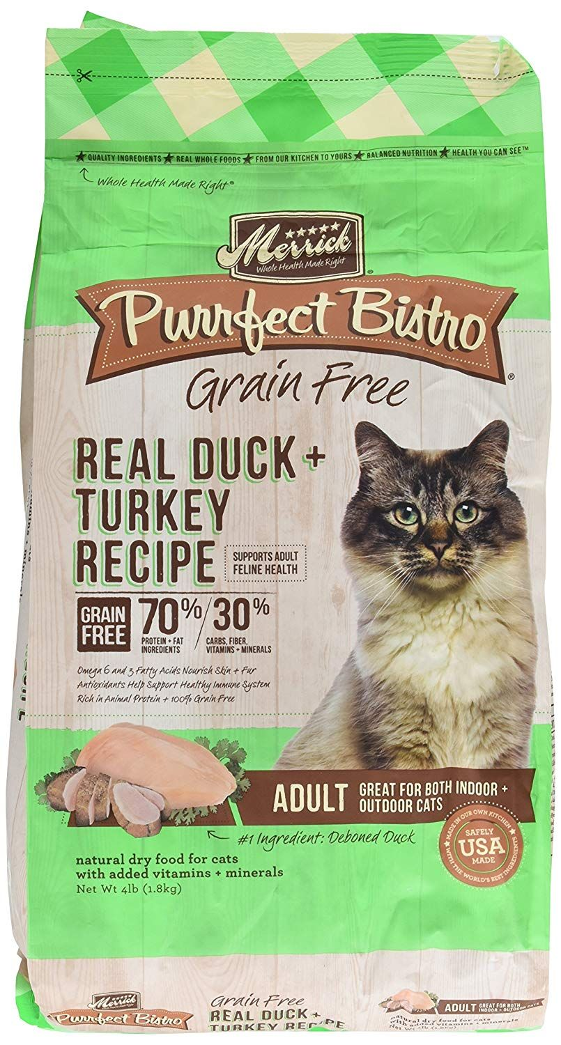 Merrick 1 Count Purrfect Bistro Real Duck And Turkey Recipe 4 Lb