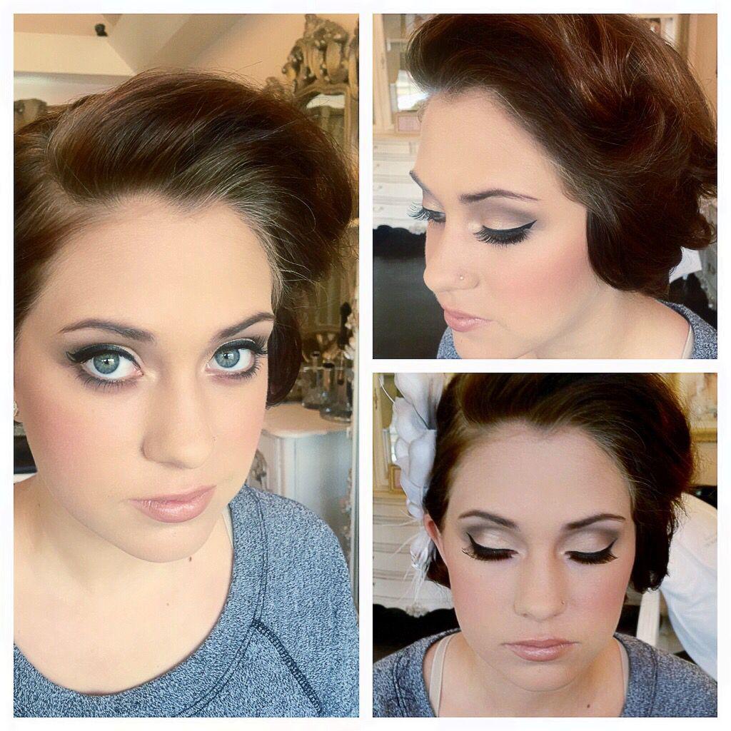 Glam Bride (Hair by Elisa / Makeup by Rebecca ) @bleudogfoto