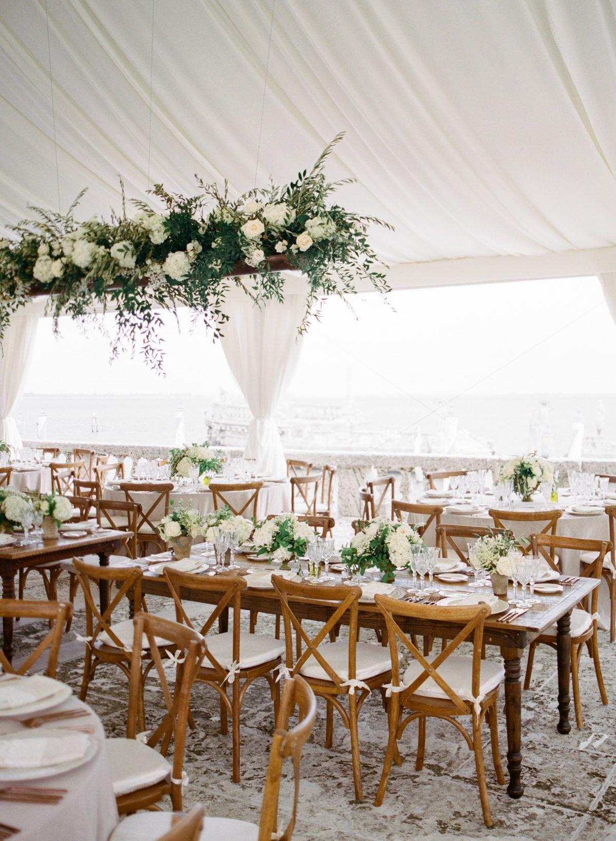 Italian Inspired Miami Wedding At Vizcaya Museum Gardens In 2020 Miami Wedding Miami Wedding Reception Nautical Wedding Decorations