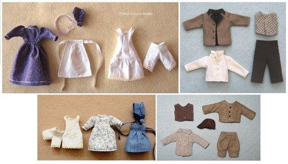 1:12 SCALE Mini Doll Pattern ~ GROOM IN TUXEDO ~ PS526 PDF