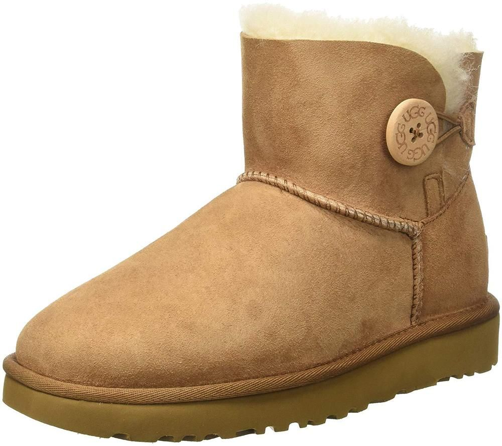 ac77bf3378d UGG Women s Mini Bailey Button Ii Winter Boot  fashion  clothing  shoes   accessories
