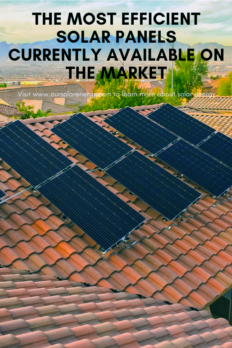 The Most Efficient Solar Panels Currently Available On The Market In 2020 Most Efficient Solar Panels Solar Solar Panels