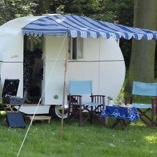 Vintage Retro Classic Caravan Sun Canopy Awning Cheltenham Sprite Hollivan Retro Caravan Caravan Awnings Awning