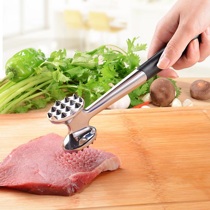 Kcasa kcmh01 heavy duty stainless steel meat tenderizer