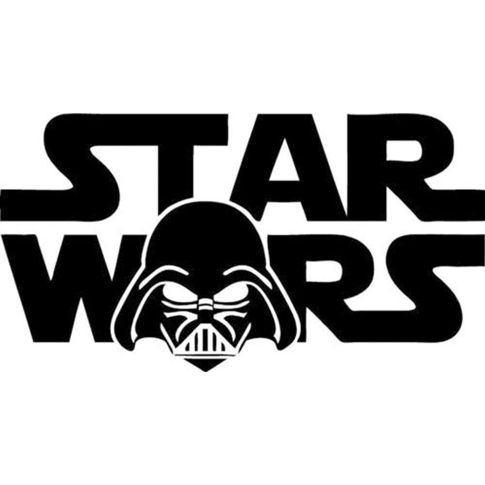 2 Sizes Darth Vader Star Wars Logo Wall Art Vinyl Decal