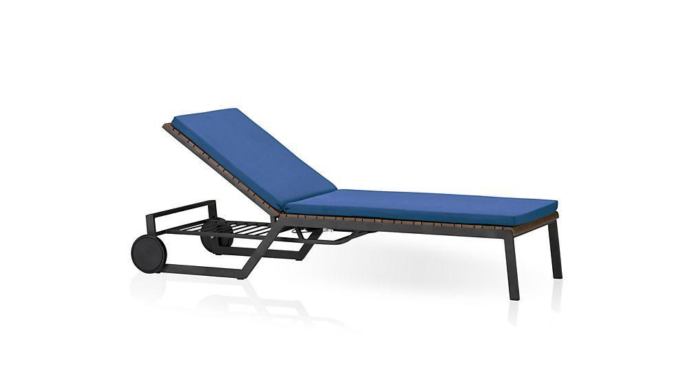 Rocha II Chaise Lounge with Sunbrella ® Cushion