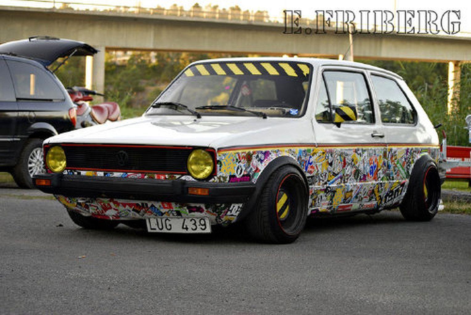 Car Wraps Ideas Awesome Https Www Mobmasker Com Car Wraps Ideas Awesome Volkswagen Golf Mk2 Volkswagen Car [ 1024 x 1528 Pixel ]