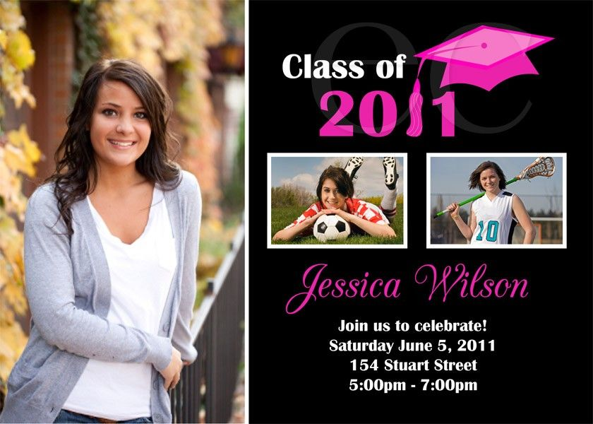 High School Graduation Invitation Ideas Grad Announcement - Graduation party invitations ideas