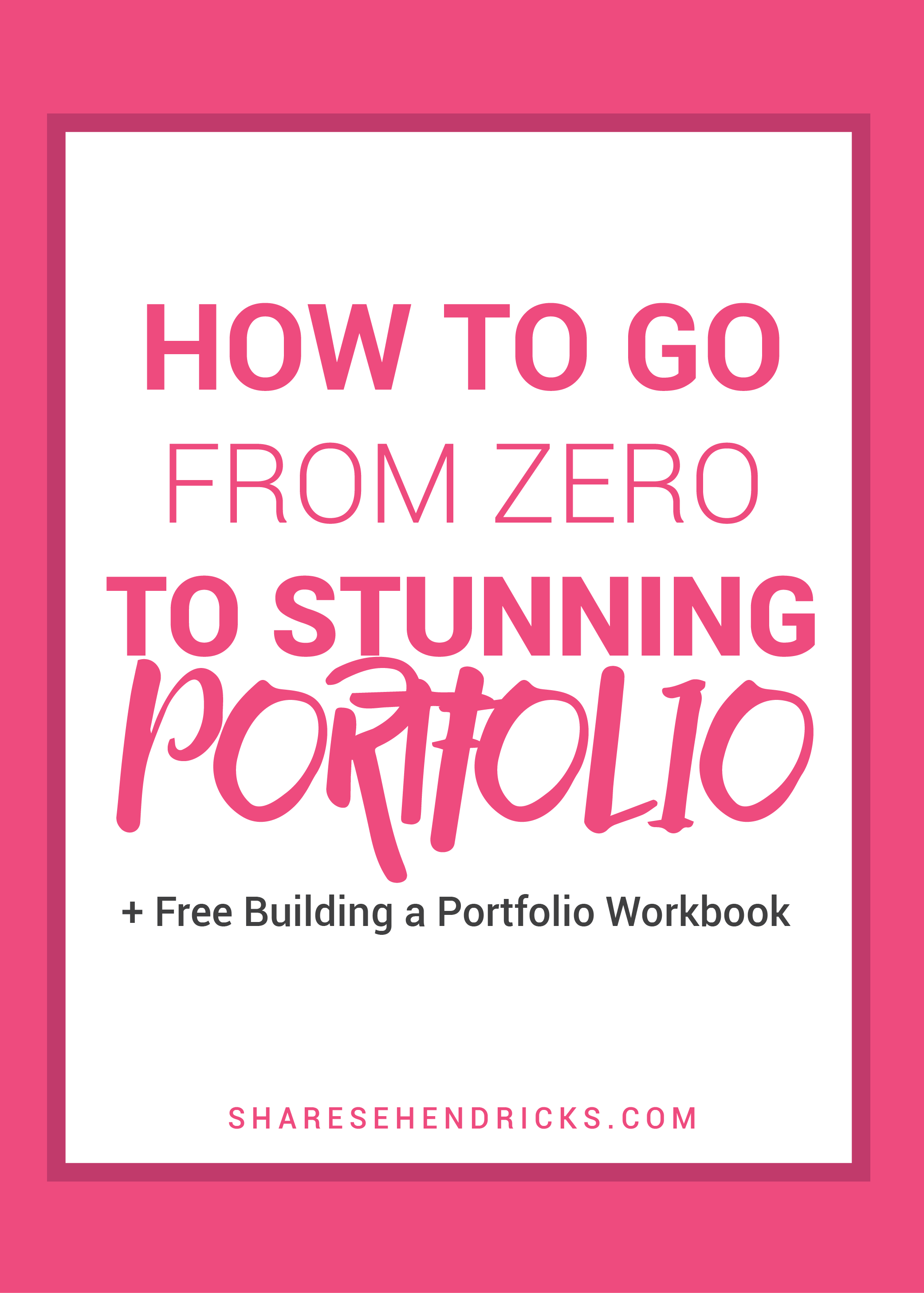 You need a portfolio to get clients, but how can you create any work without…
