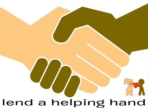 Lending a Helping Hand | LOVE HANDS | Hand clipart ...  Lending a Helpi...