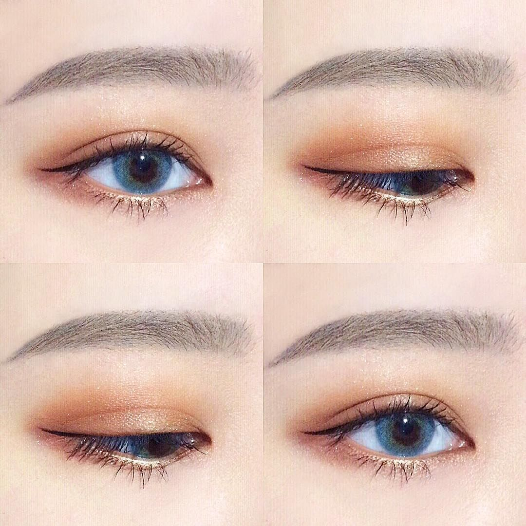 Pin by 장다연 on korean makeup Korean eye makeup, Asian