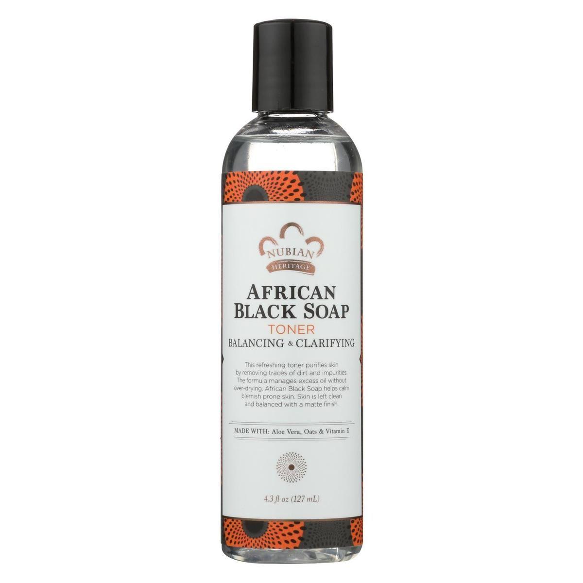 Nubian heritage toner african black soap 43 fl
