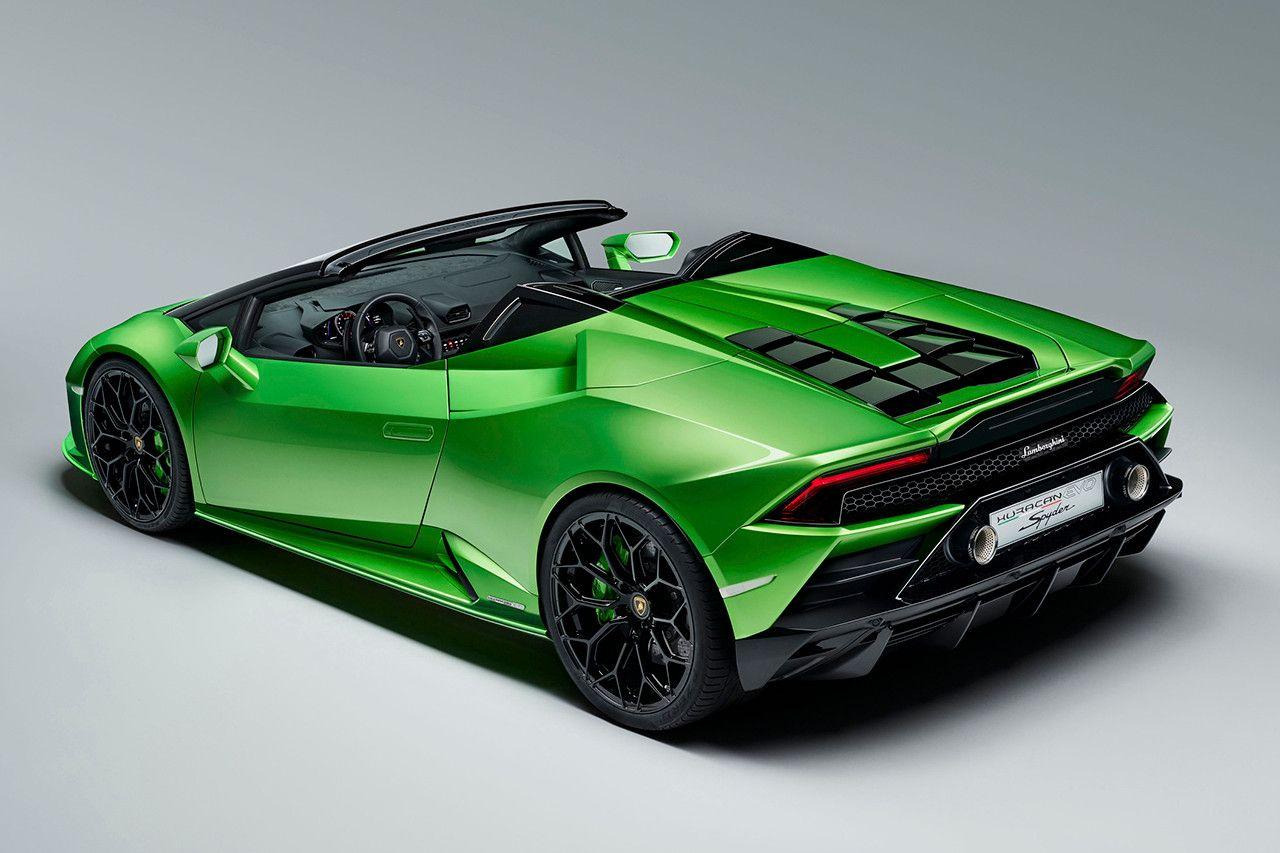 Lamborghini Unveils Huracán Evo Spyder At The Geneva Motor Show 2019 Lamborghini Huracan Lamborghini Convertible Lamborghini