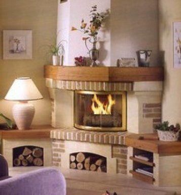 chimeneas rusticas Chimeneas Pinterest Rusticas, Hogar y - diseo de chimeneas para casas