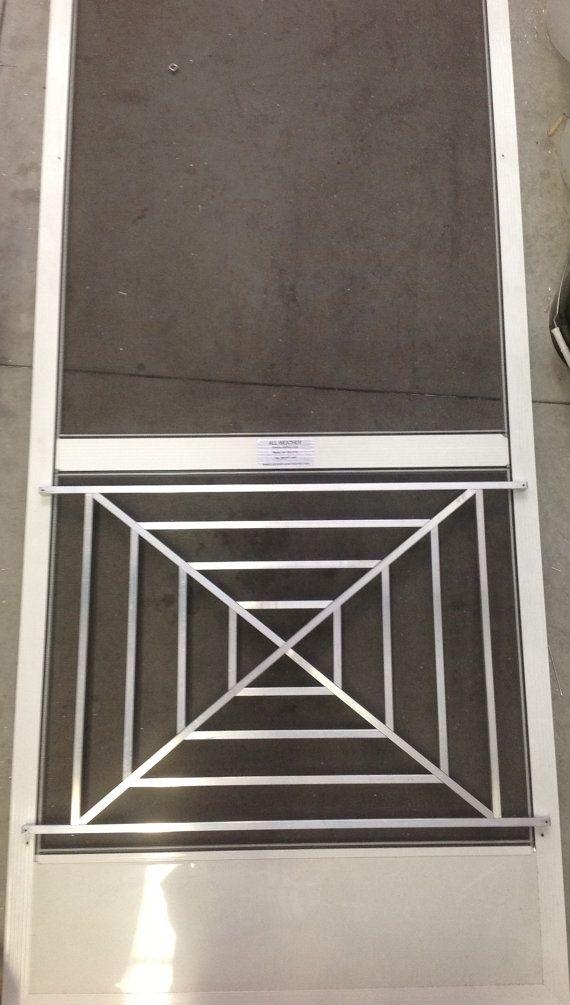 New Half Screen Door Grille Now Available Www Doorandgrille Com Doors Decor Cottage