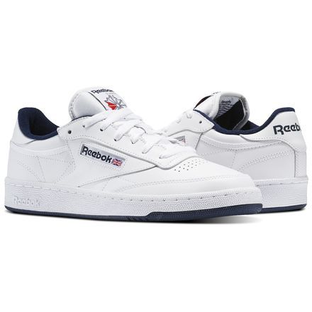 50277bb56f4 Reebok Shoes Men s Club C 85 in White Navy Size 11.5 - Court ...