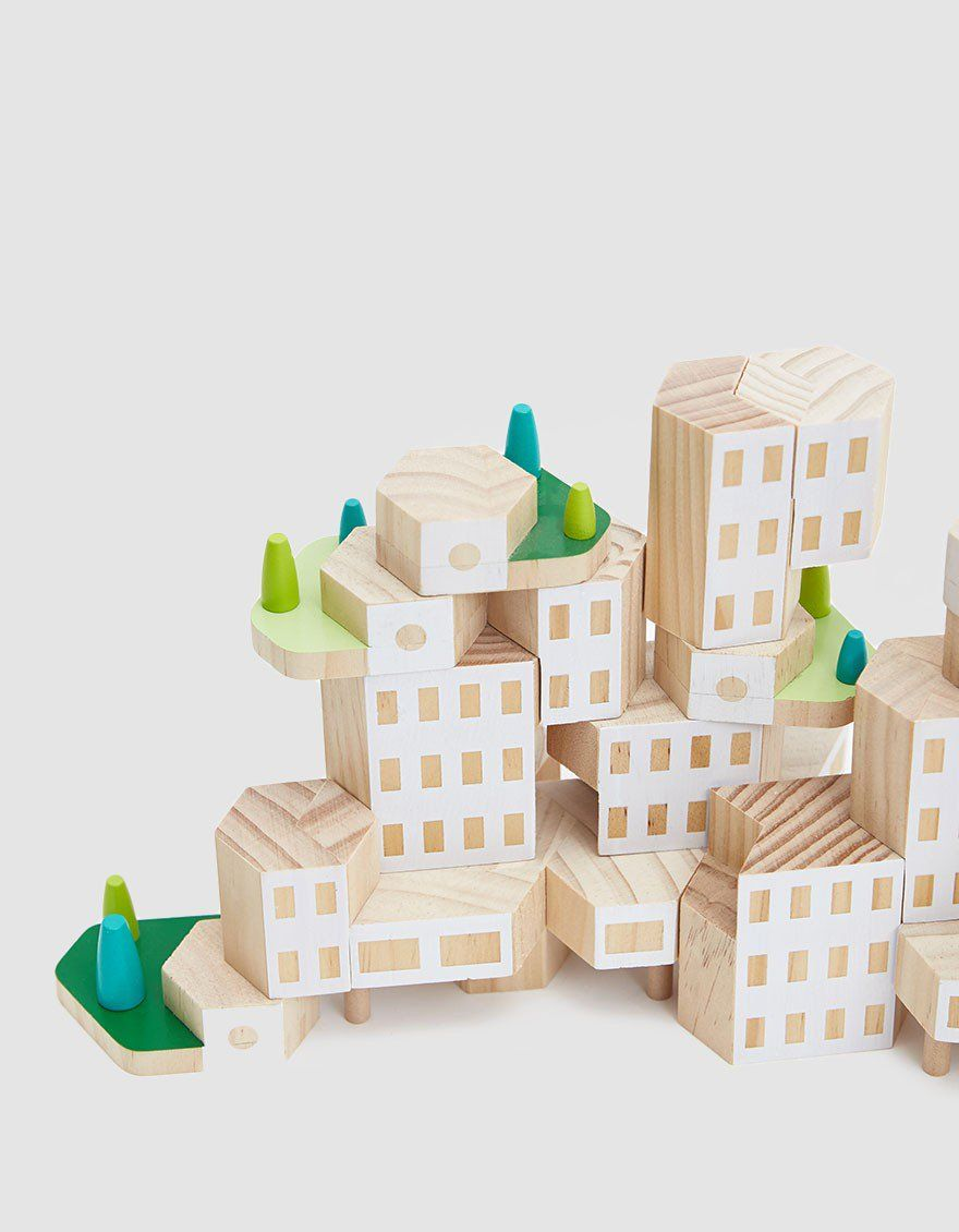 Blockitecture Garden City Mega Set Architect Building Blocks