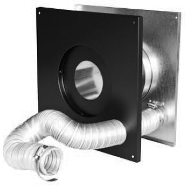4 Pelletvent Pro Wall Thimble Air Intake Kit With Images Cathedral Ceiling Thimbles Flex Hose