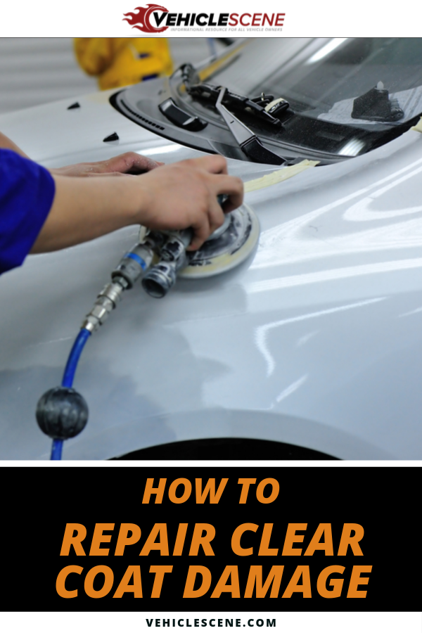Detailed instructions for clear coat repair, including a step-by-step guide, and time and tools required, to fix blemishes, scuffs and scratches. #carmaintenance #cartips #vehiclecare #vehiclehowto #carexterior