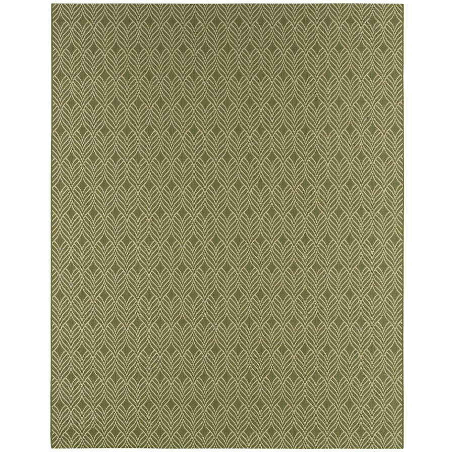 Shop Balta Group Balta Green Leaf 8x10 Area Rug At Lowe S Canada