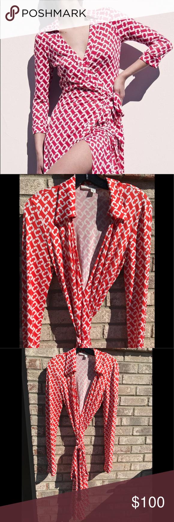 Dvf Vintage Silk Julie Wrap Dress Vintage Silk Clothes Design Vintage Dresses [ 1740 x 580 Pixel ]