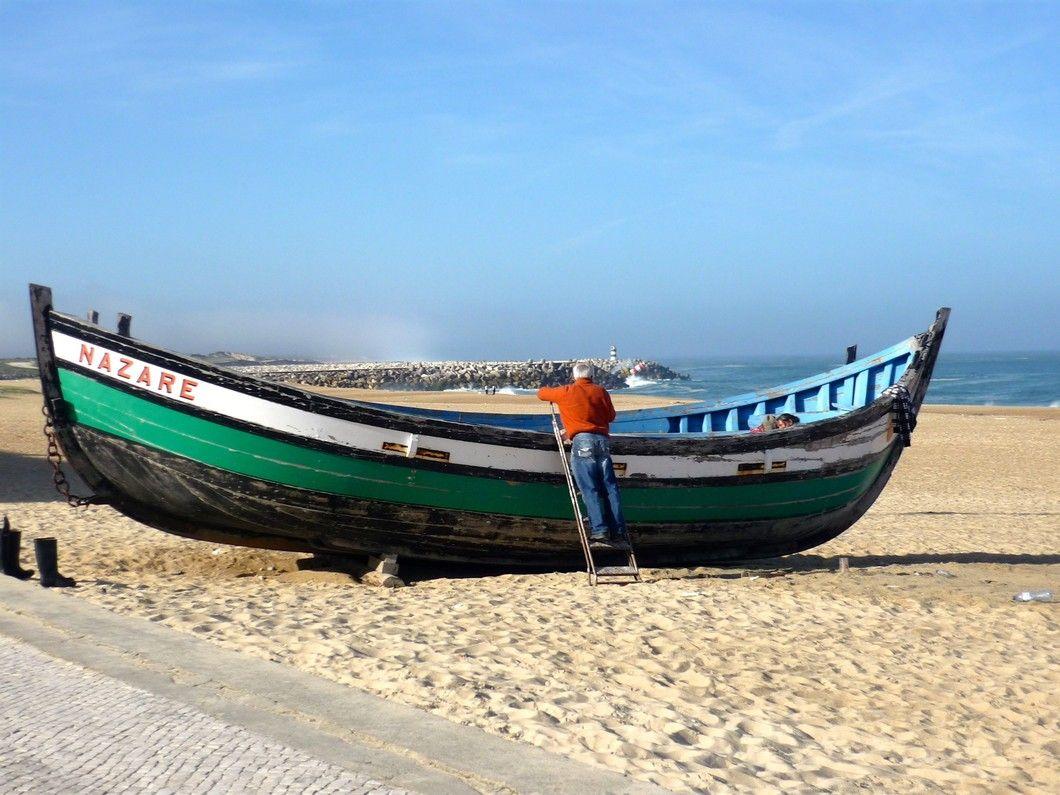 Fischerboot, Nazare - Portugal   Vorlagen/ Skitzen   Pinterest ...