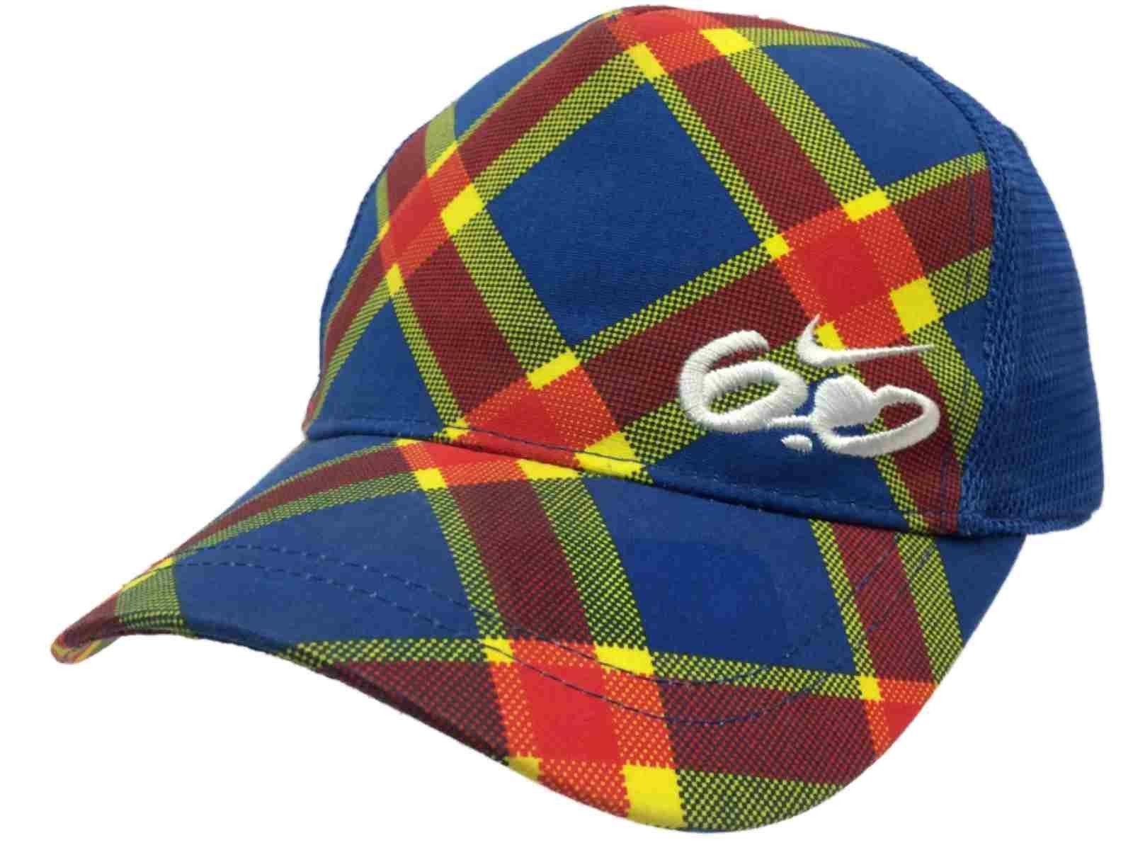 e1e518d3b0d ... czech nike 6.0 youth red yellow blue plaid mesh adjustable hat cap 8 20  60fea 67fdd
